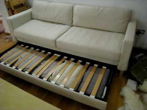 hagalund sofa bed instructions