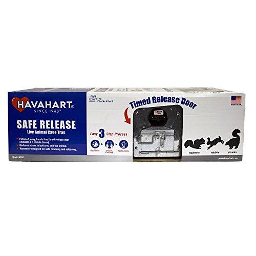 havahart trap release instructions