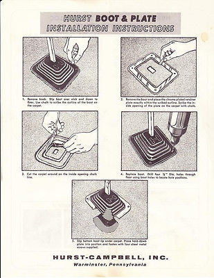 hurst indy shifter instructions