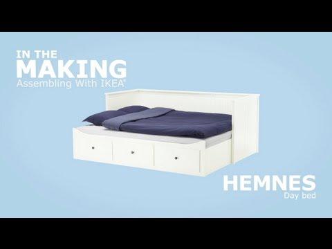 ikea hemnes king bed instructions