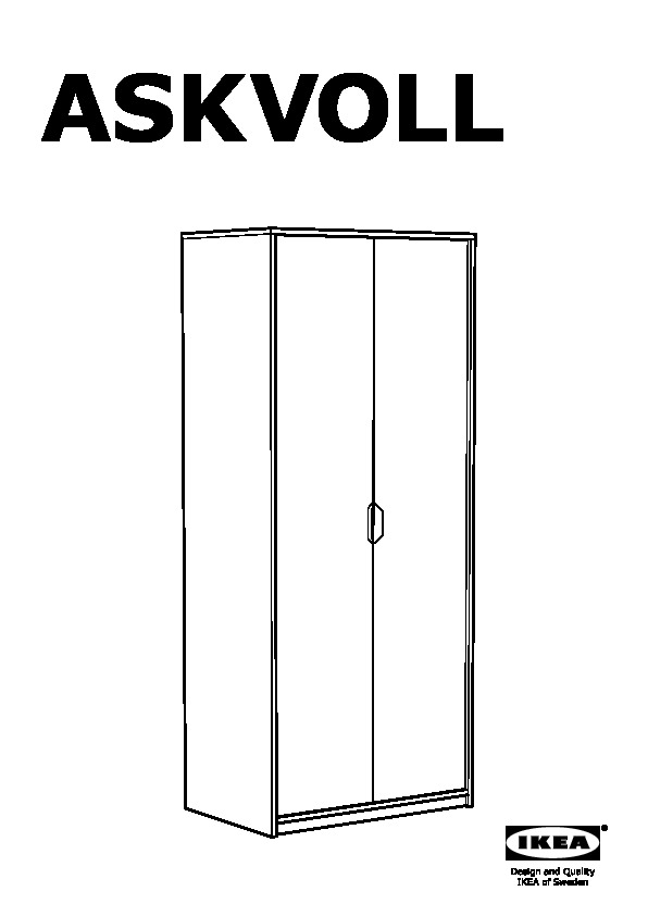 ikea odda wardrobe assembly instructions