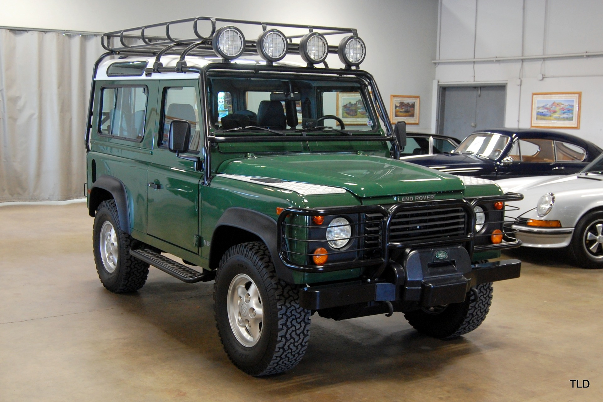 land rover defender diff lock instructions