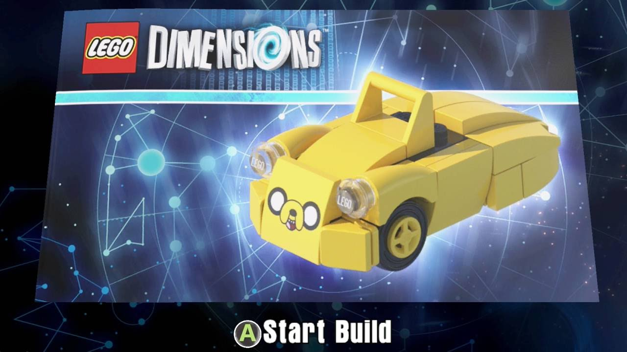 lego dimensions adventure time instructions