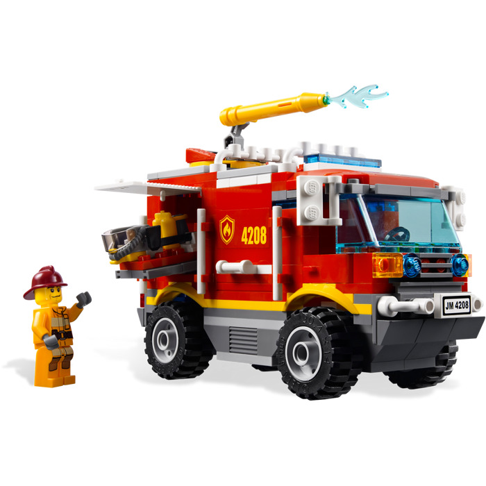 lego fire truck instructions 4208