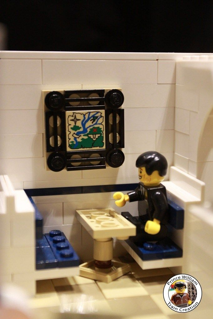 lego grocery store instructions