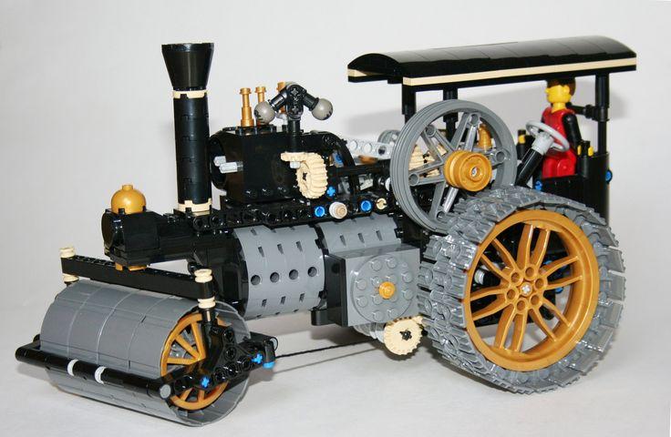 lego steam engine instructions