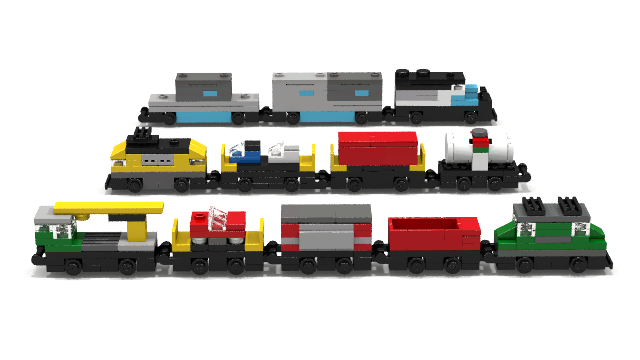 lego train instructions 7939