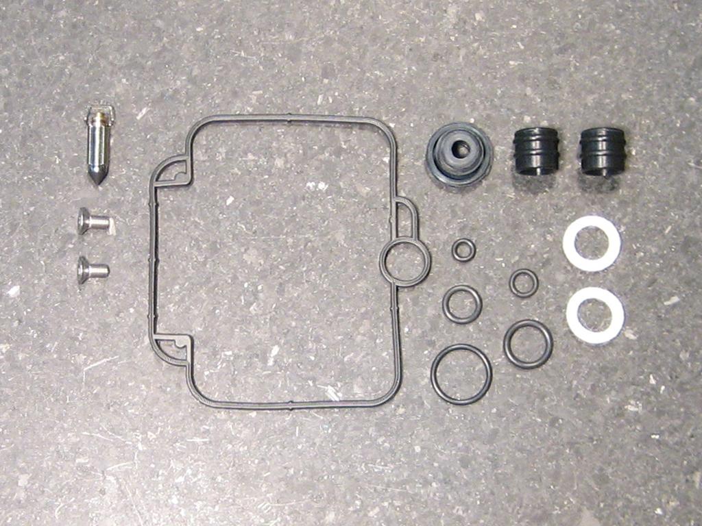 mikuni carb rebuild instructions