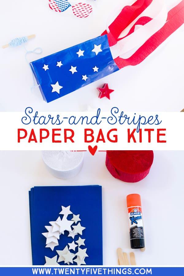 paper bag kite instructions