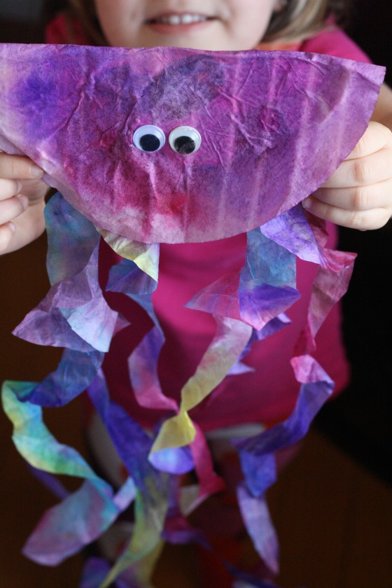 paper plate jellyfish instructions