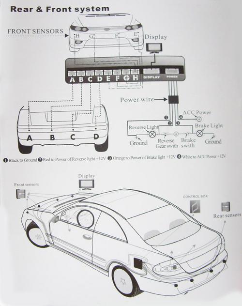parking sensors installation instructions