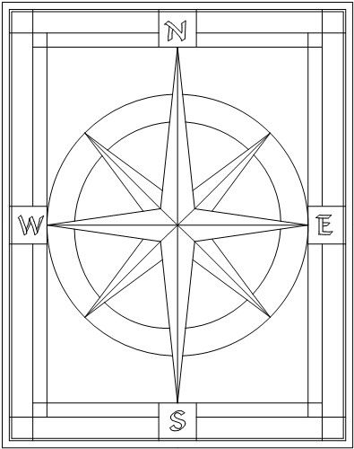 simple instructions on how to use a compass