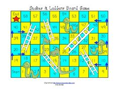 snake and ladder game instructions