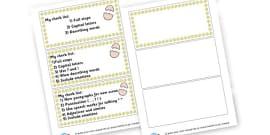 success criteria for instructions ks1