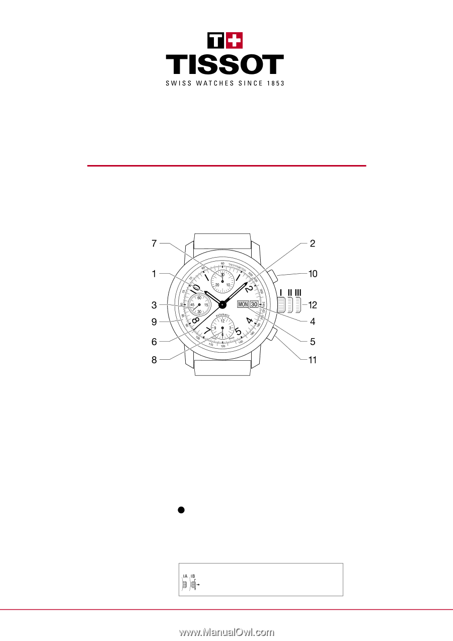 tissot prc 200 instruction manual
