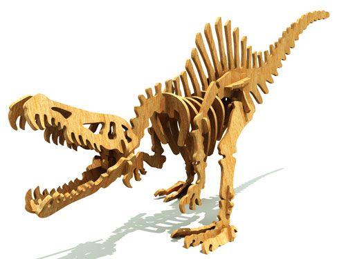 wooden t rex skeleton instructions